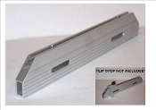 "16"" long Aluminum Jig Fence. Includes Free Tape Measure"
