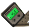 -NEW- Digital Angle Gauge with Backlight Type 2 - The Wixey Digital Angle Gauge accurately sets saw blade bevel angle. It has 0.1 degree resolution, uses a single AAA battery, and works great for miter saws, table saws and other machinery set up.